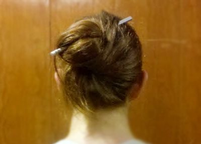 How To Put Your Hair Up With A Pencil Pencils Com